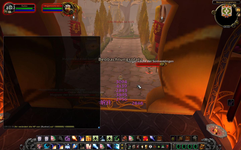 Fehler 12668 Terrasse Der Magister Magierwachen Der